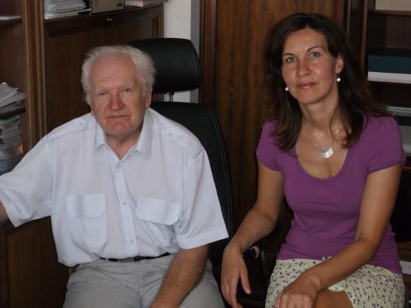Josef Poledna a Irena Polednová